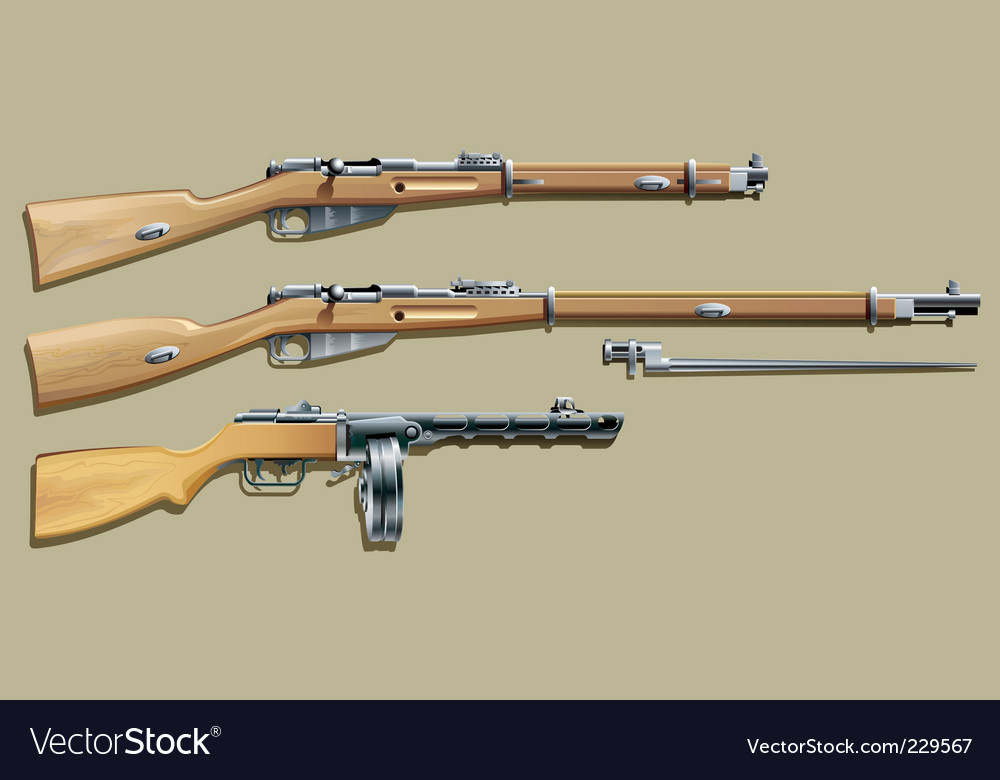 Russian weapon vector | Price: 3 Credit (USD $3)
