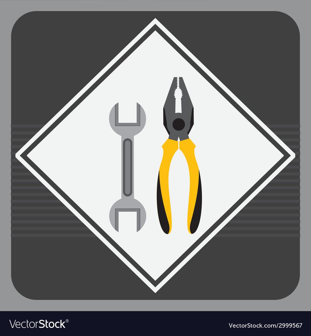 Tools design vector | Price: 1 Credit (USD $1)