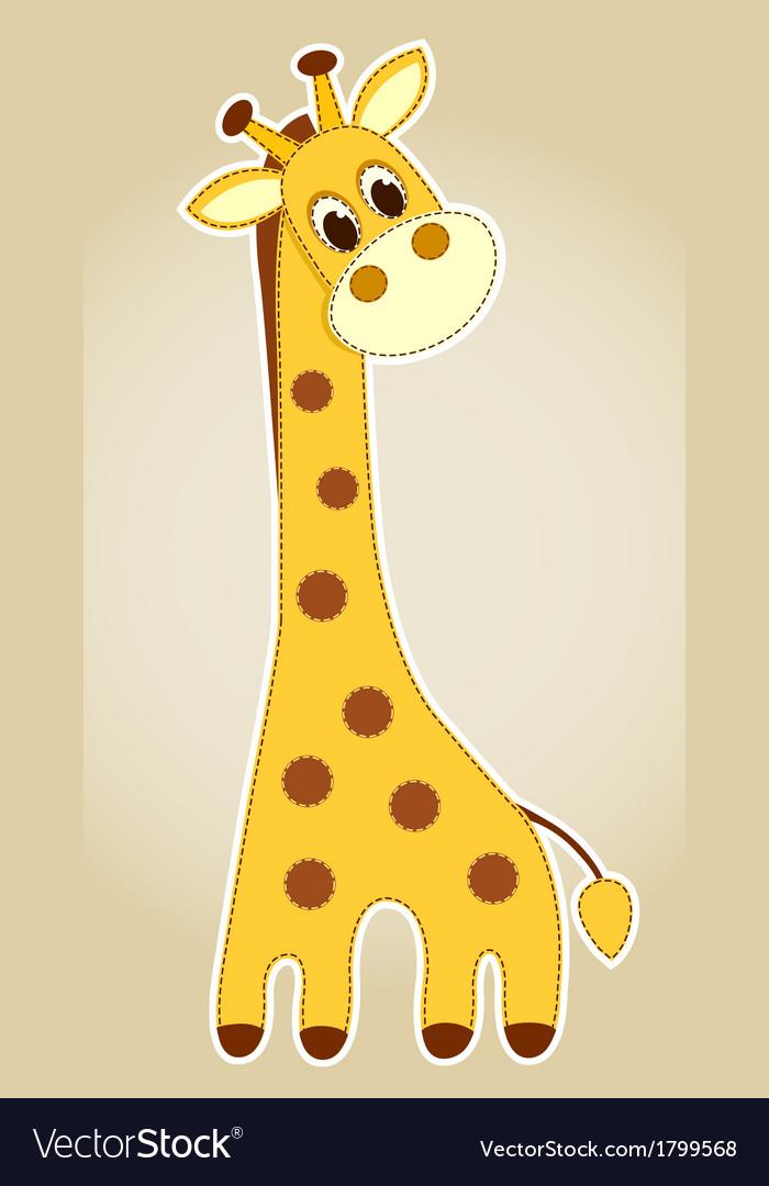 Giraffe application vector | Price: 1 Credit (USD $1)