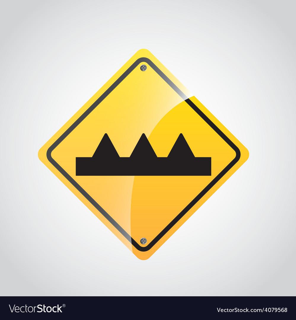 Traffic sign vector | Price: 1 Credit (USD $1)