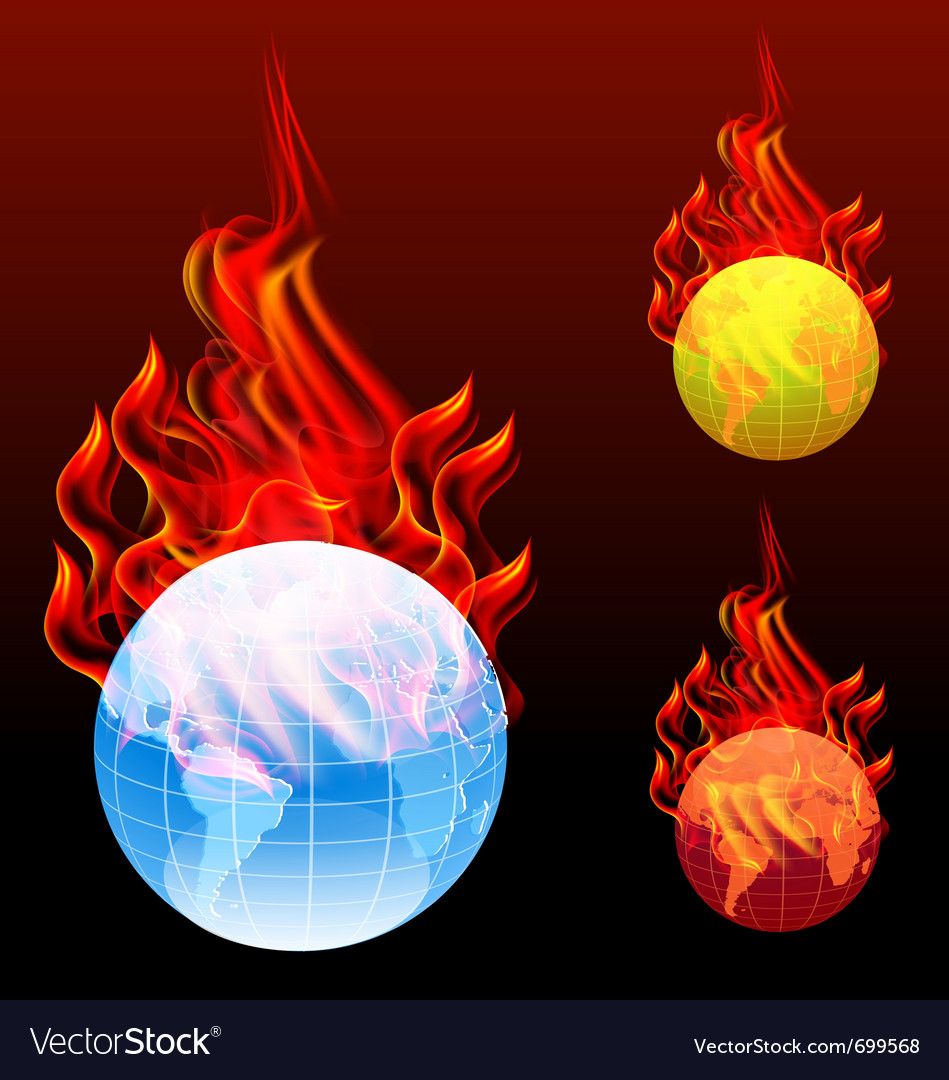 World burn vector | Price: 1 Credit (USD $1)