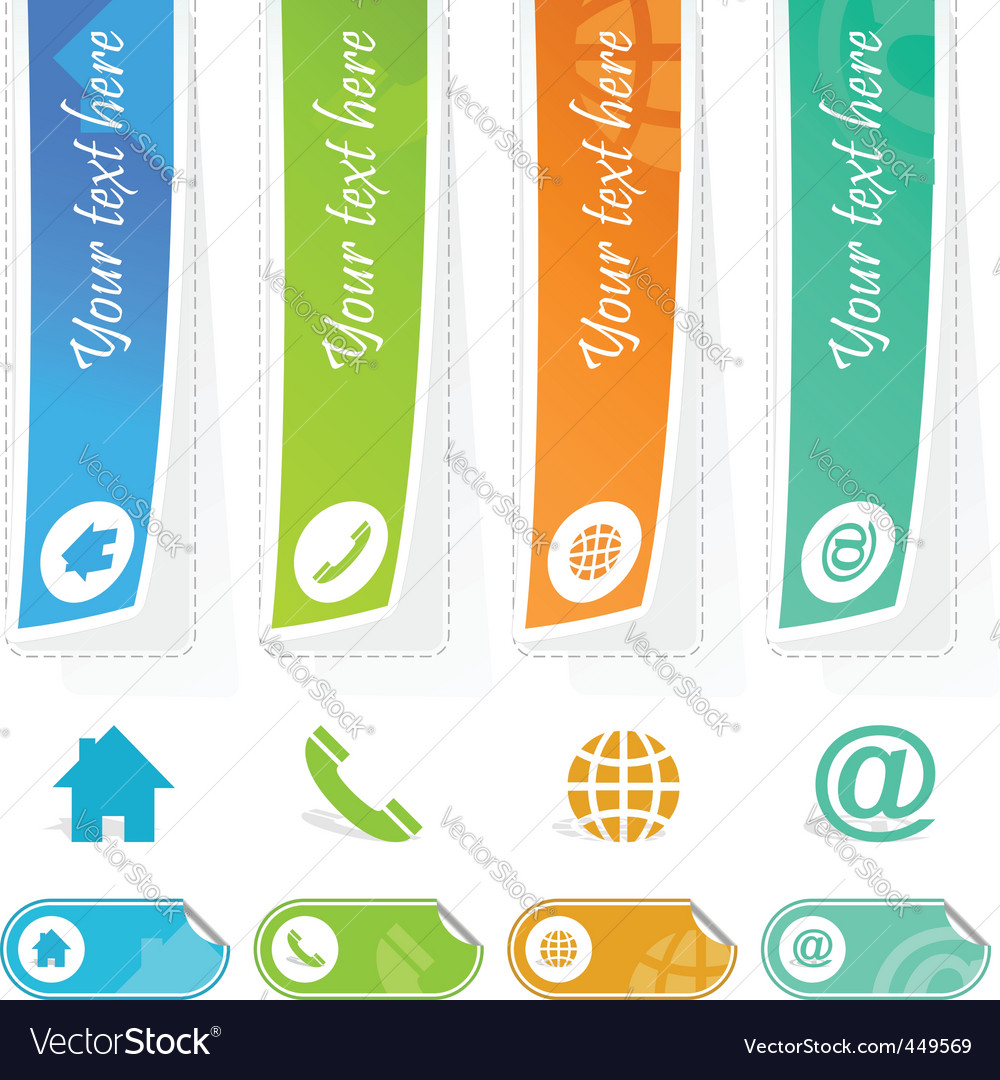 Contacts vector | Price: 1 Credit (USD $1)