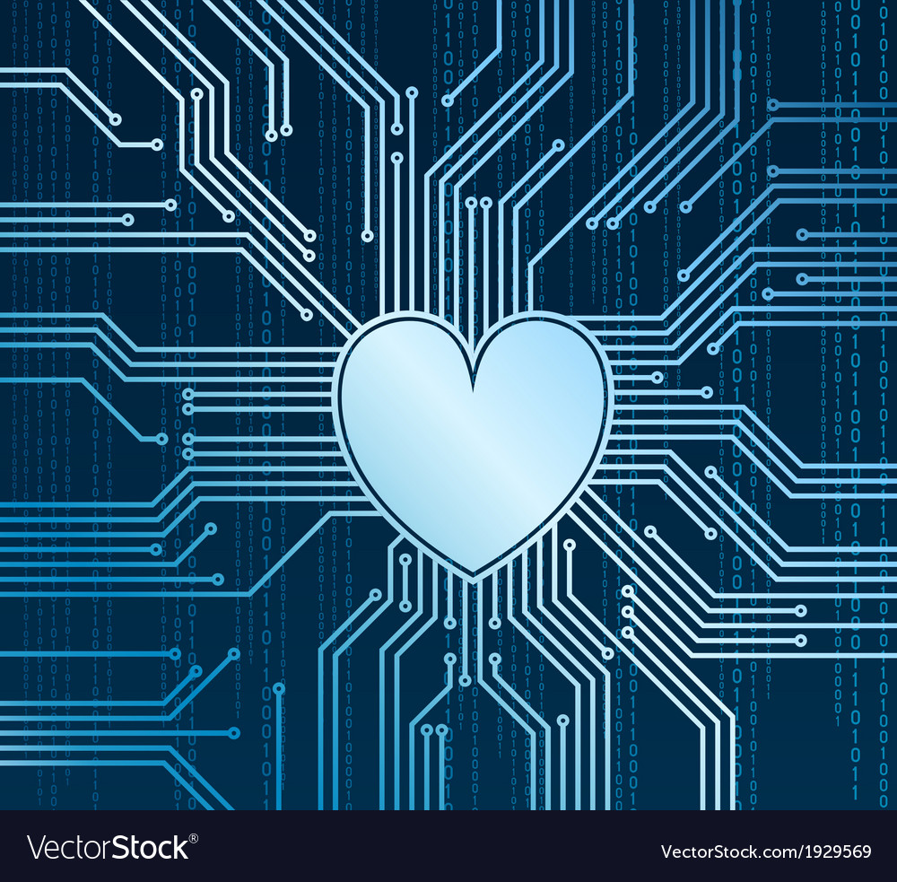 Cyberheart vector | Price: 1 Credit (USD $1)