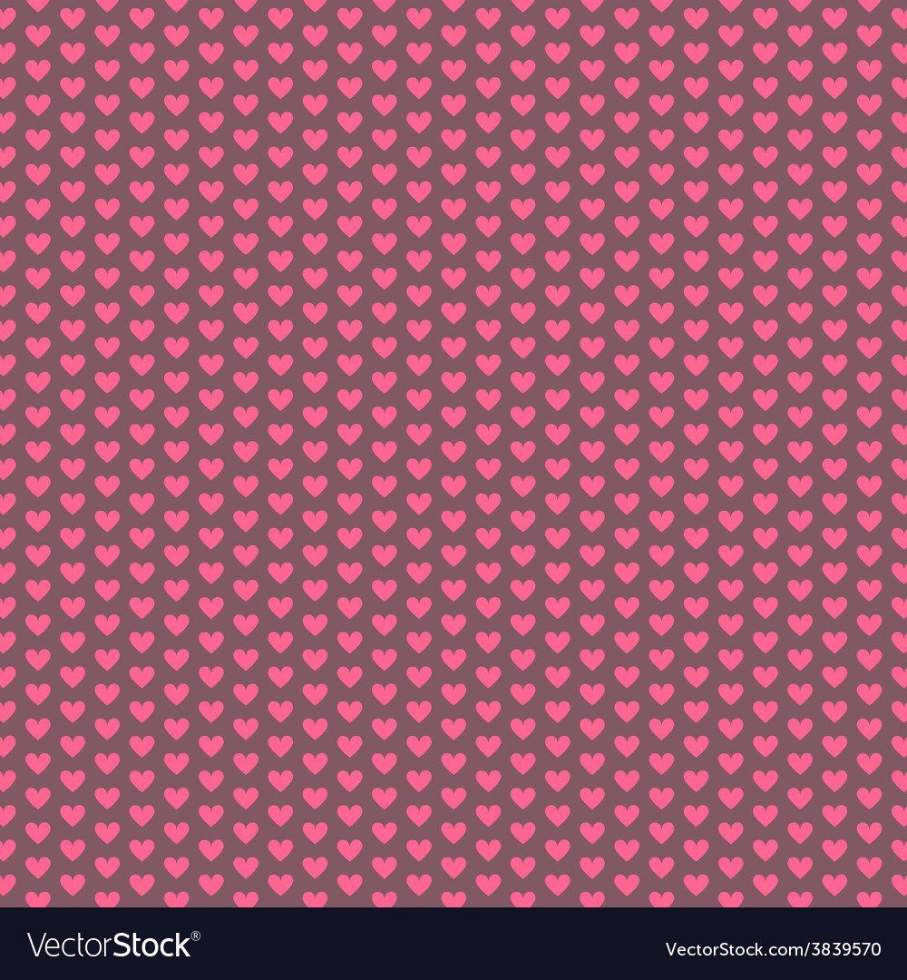 Romantic and love seamless patterns vector | Price: 1 Credit (USD $1)