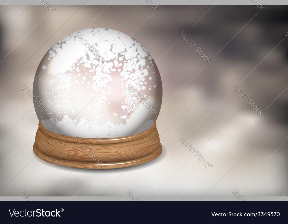 Snowdome vector   Price: 3 Credit (USD $3)