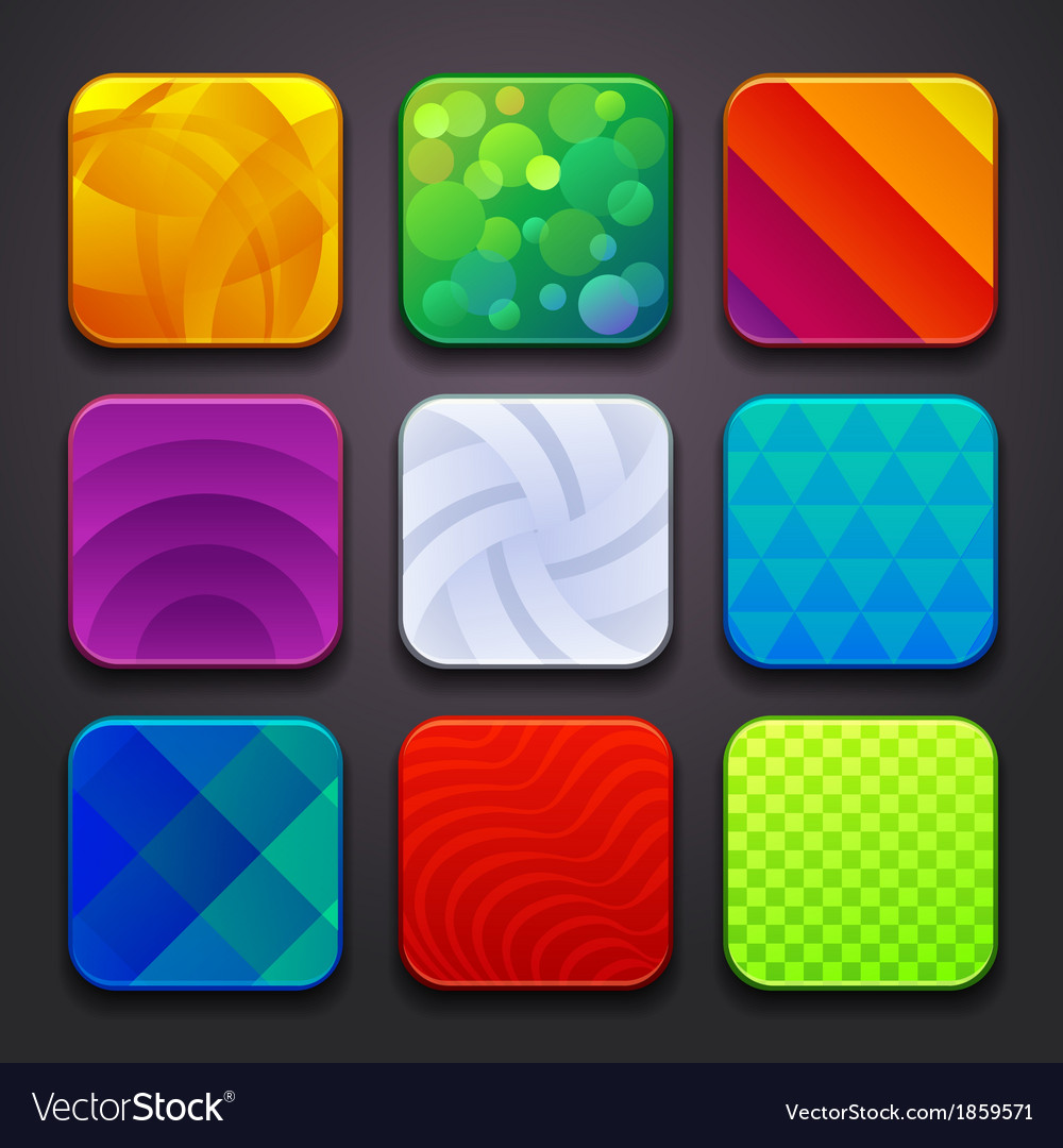 Background for the app icons-part 6 vector | Price: 1 Credit (USD $1)