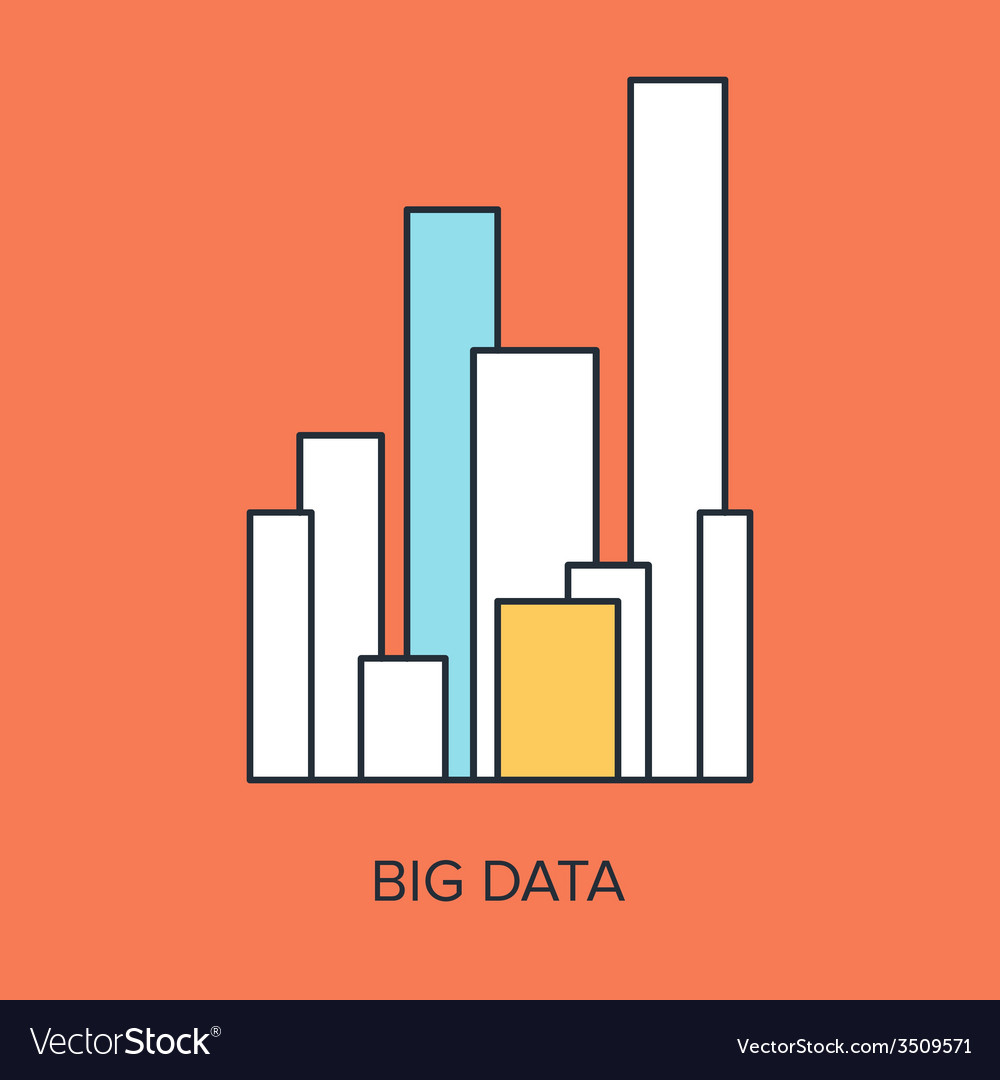 Big data vector | Price: 1 Credit (USD $1)