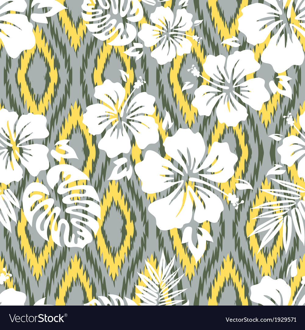 Hawaiian ikat vector | Price: 1 Credit (USD $1)