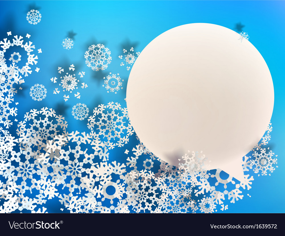 Abstract 3d snowflakes  eps10 vector | Price: 1 Credit (USD $1)