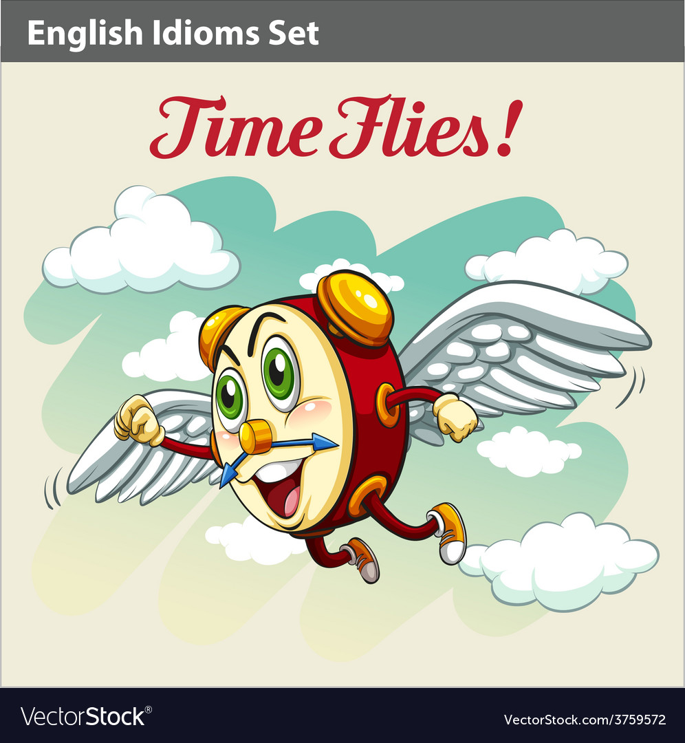 An english idiom vector | Price: 3 Credit (USD $3)