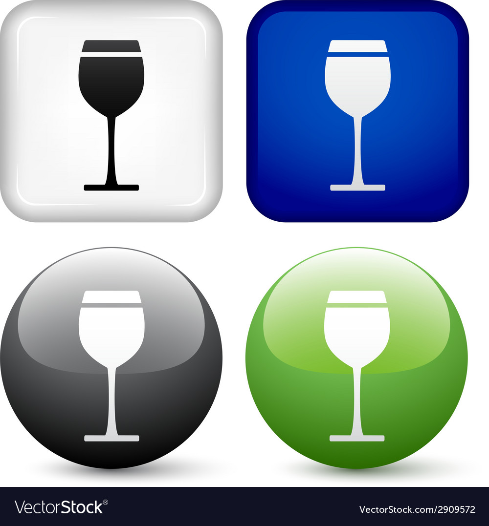 Drink buttons vector | Price: 1 Credit (USD $1)