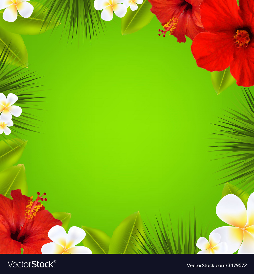 Sale poster with flowers vector | Price: 1 Credit (USD $1)