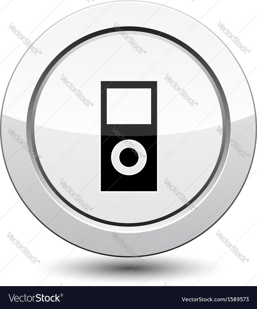 Button with system unit vector | Price: 1 Credit (USD $1)