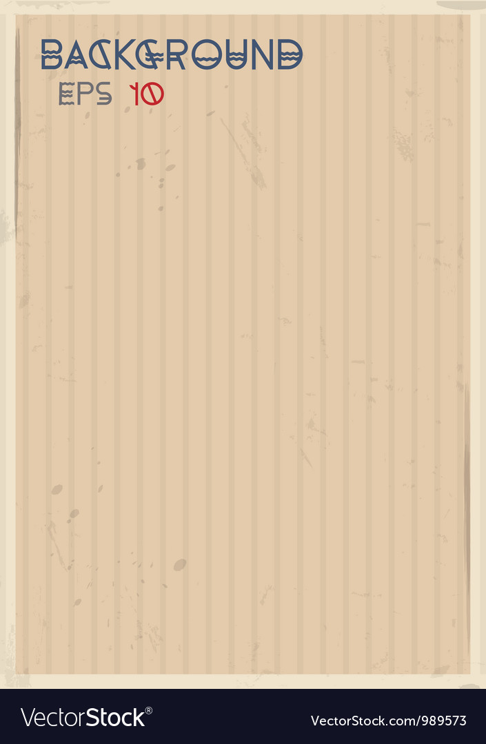 Striped vintage background vector | Price: 1 Credit (USD $1)