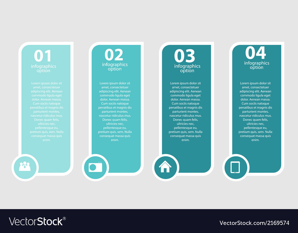 Infographic templates for business vector | Price: 1 Credit (USD $1)