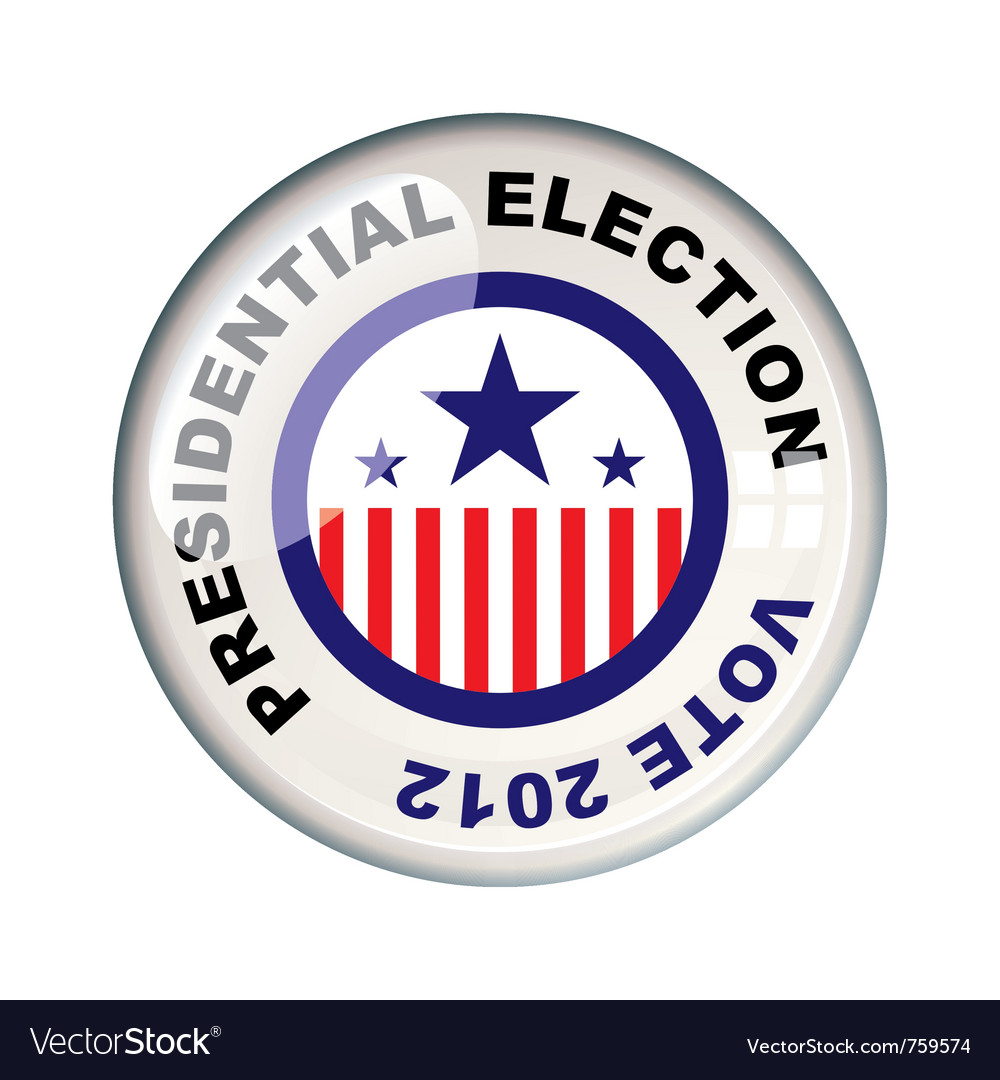 Presidential 2012 election vector | Price: 1 Credit (USD $1)