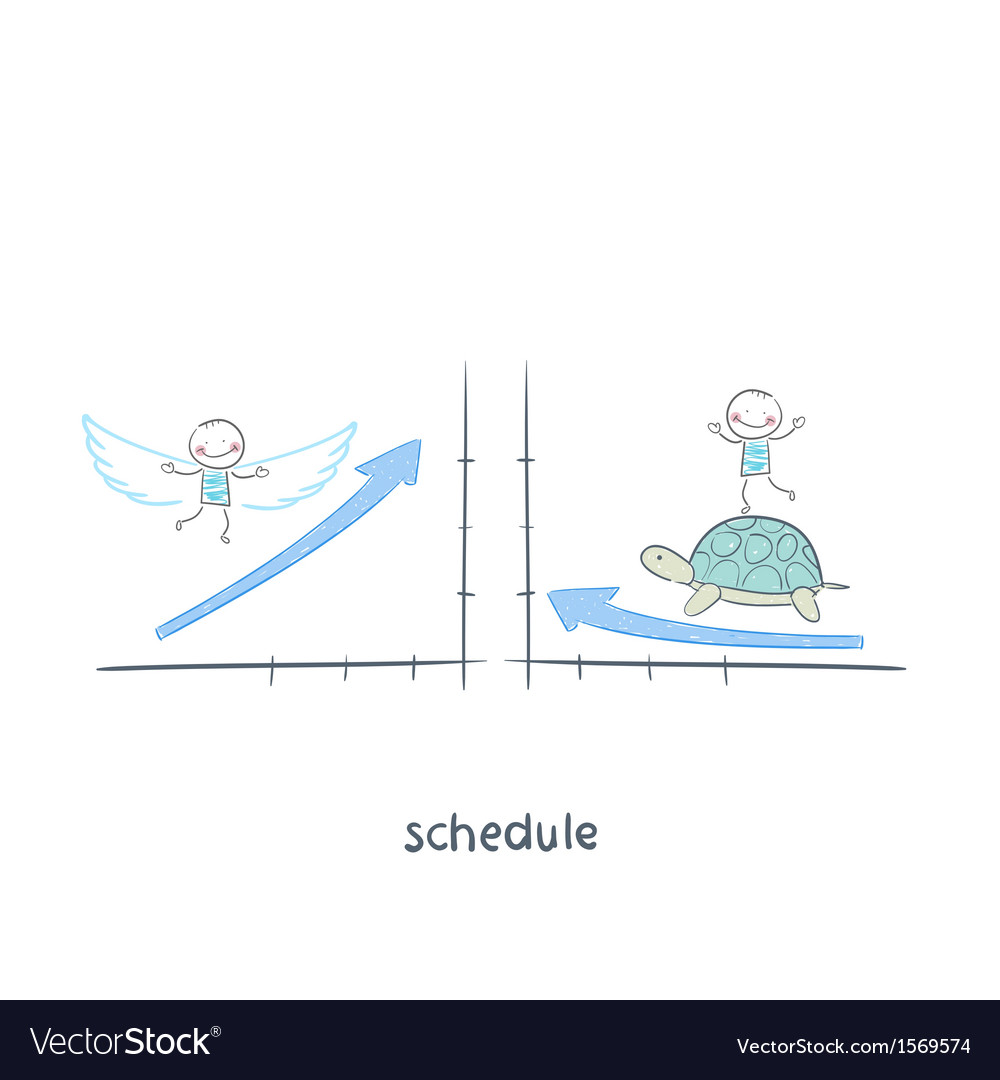 Schedule vector | Price: 1 Credit (USD $1)