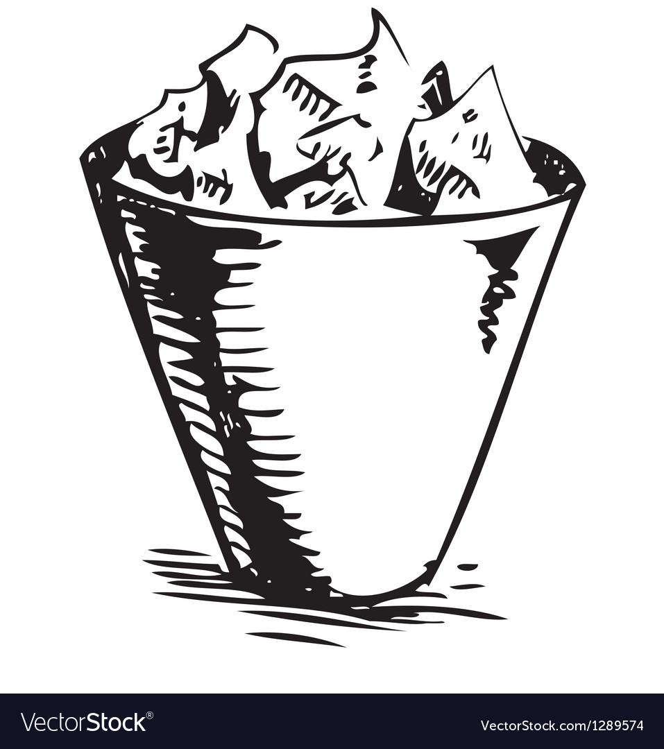 Trash bin vector   Price: 1 Credit (USD $1)