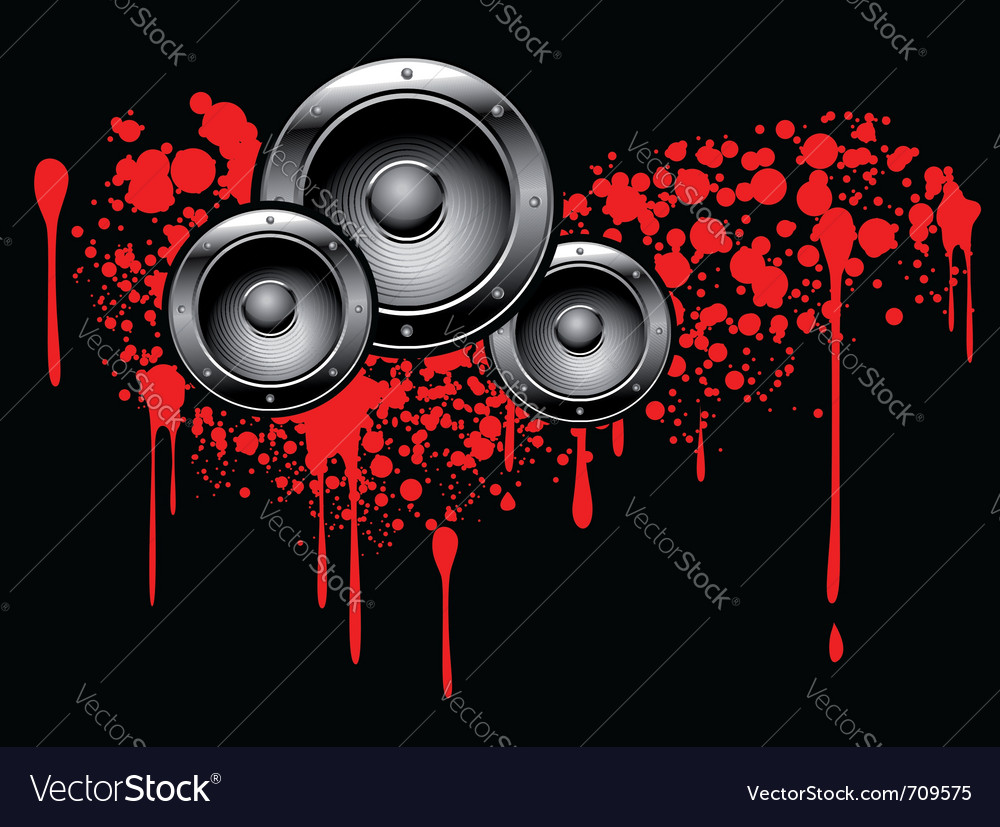 Abstract musical graffiti vector | Price: 1 Credit (USD $1)