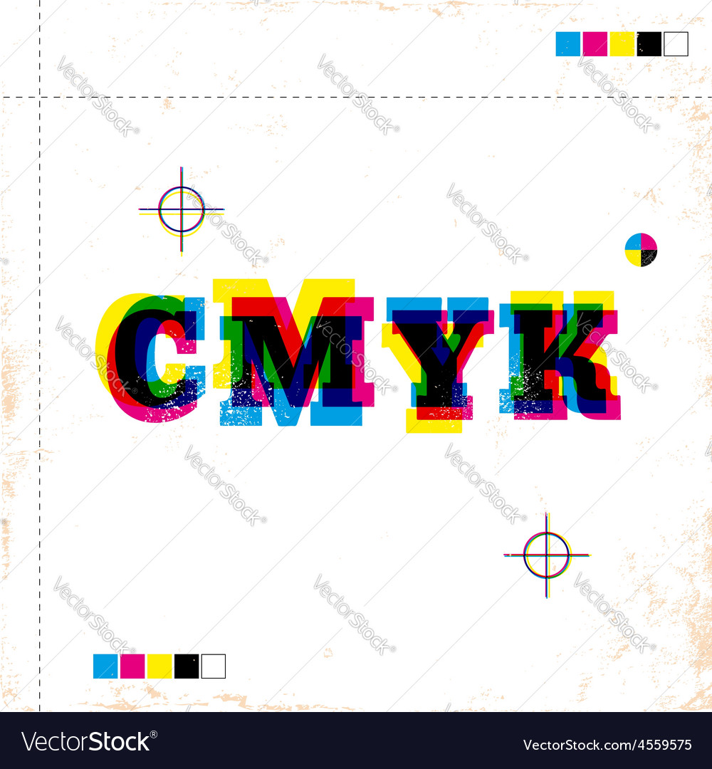 Cmyk vector | Price: 1 Credit (USD $1)