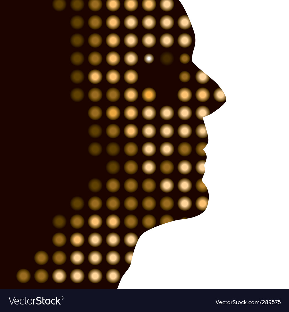 Dot face vector | Price: 1 Credit (USD $1)