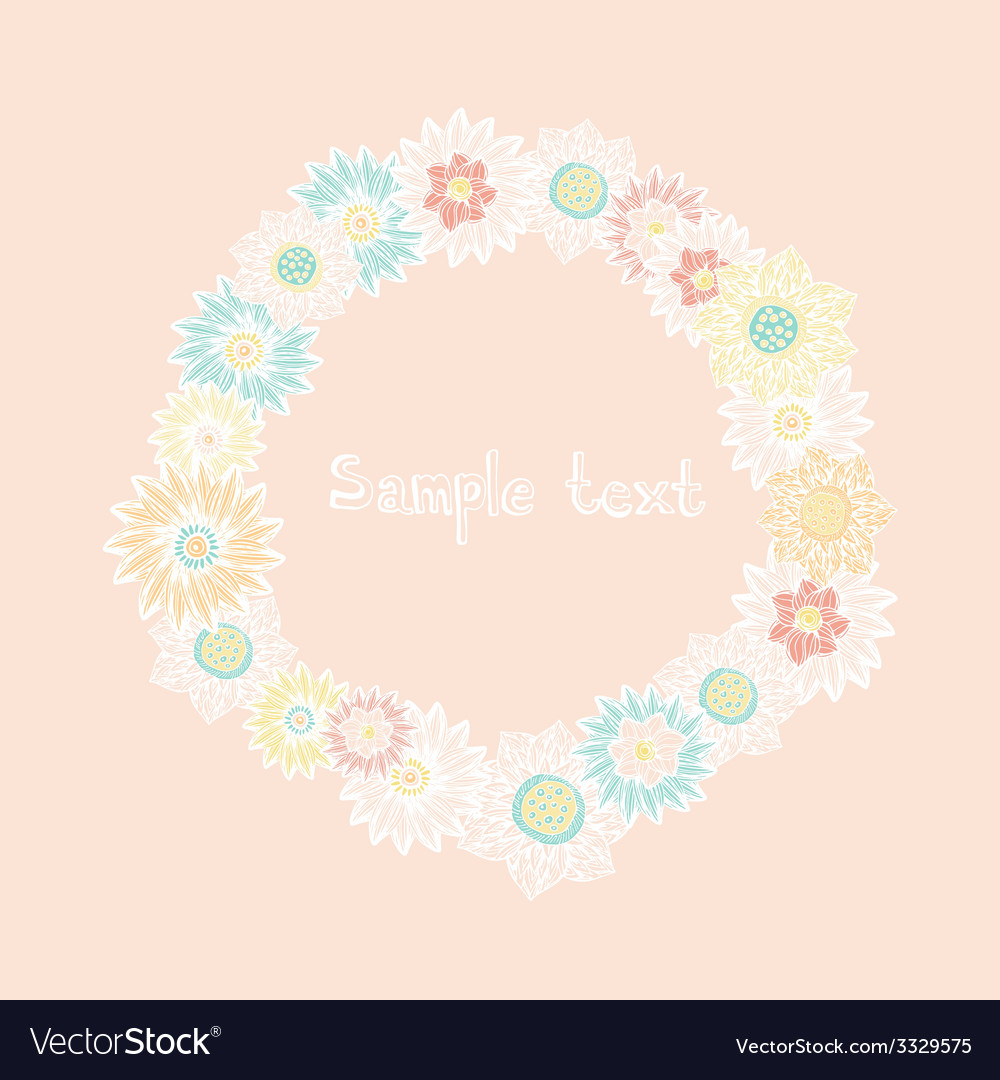 Flowerelements19 vector | Price: 1 Credit (USD $1)