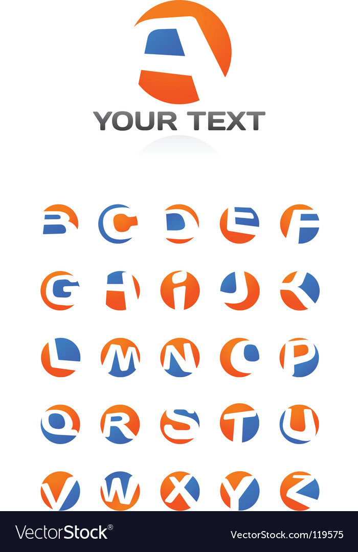Logotype text vector | Price: 1 Credit (USD $1)