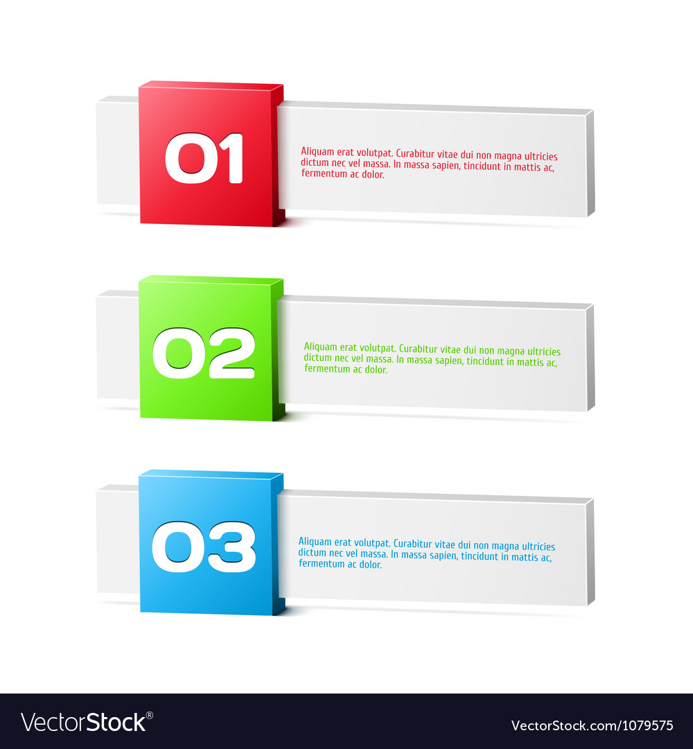 Progress background  product choice or versions vector | Price: 1 Credit (USD $1)