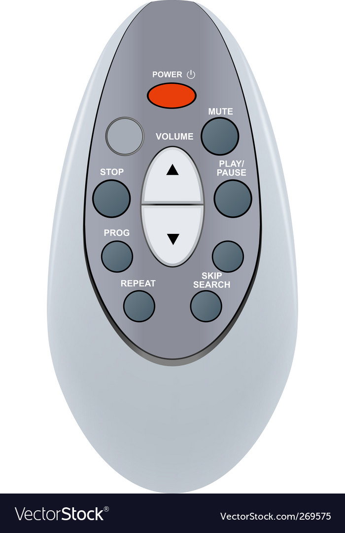 Remote control vector | Price: 1 Credit (USD $1)
