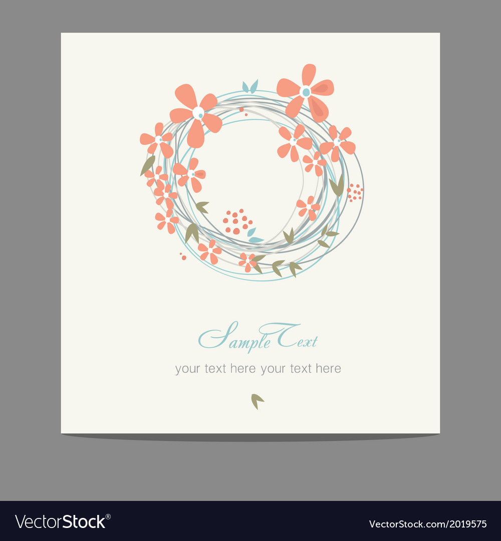 Summer flowers cotton vector | Price: 1 Credit (USD $1)