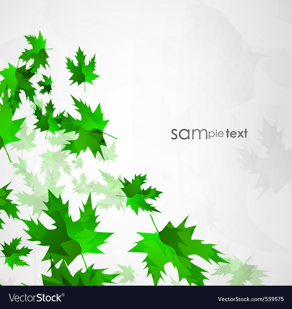 Sun leafs vector | Price: 1 Credit (USD $1)