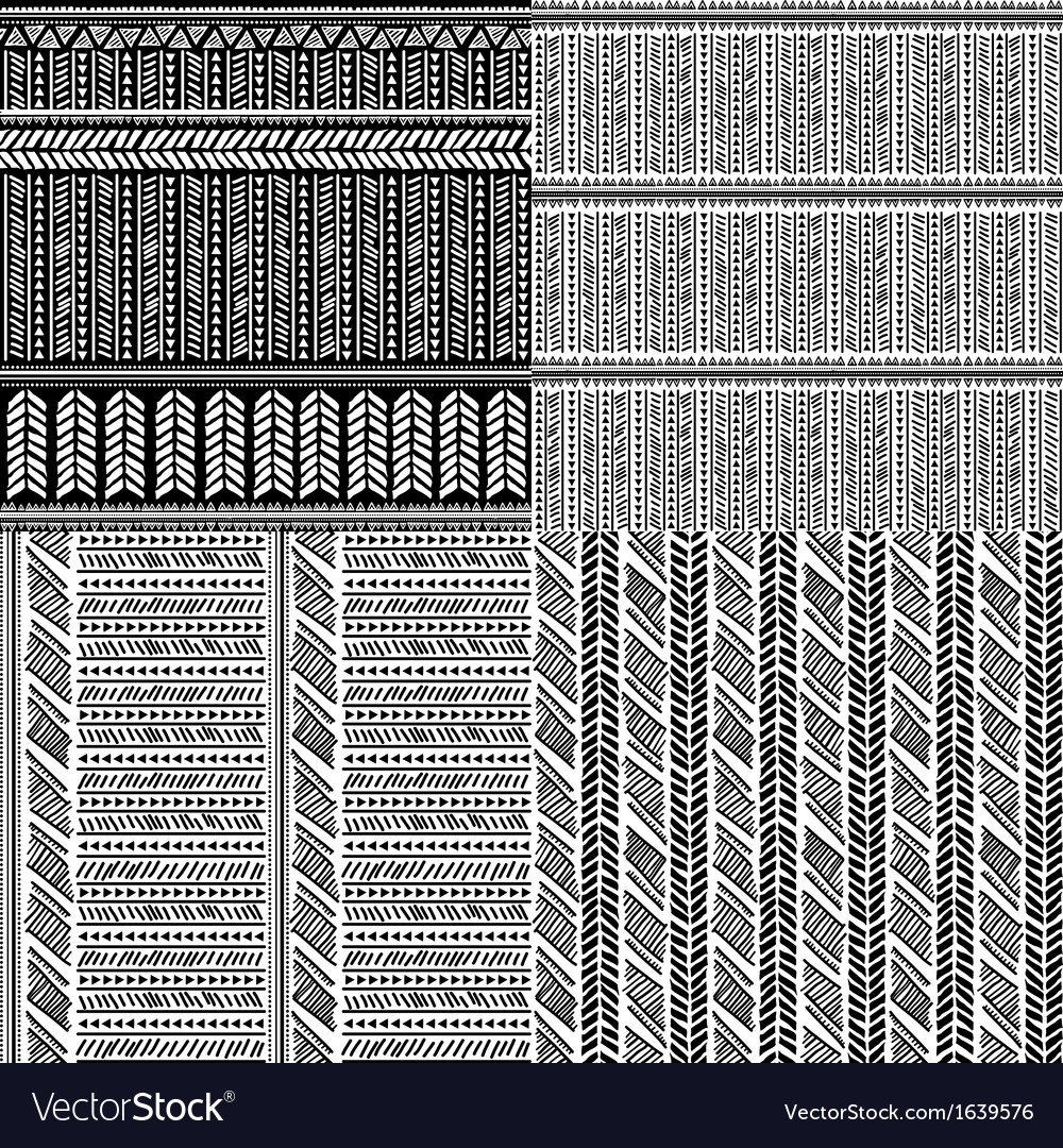 Tribal vintage ethnic pattern seamless vector | Price: 1 Credit (USD $1)