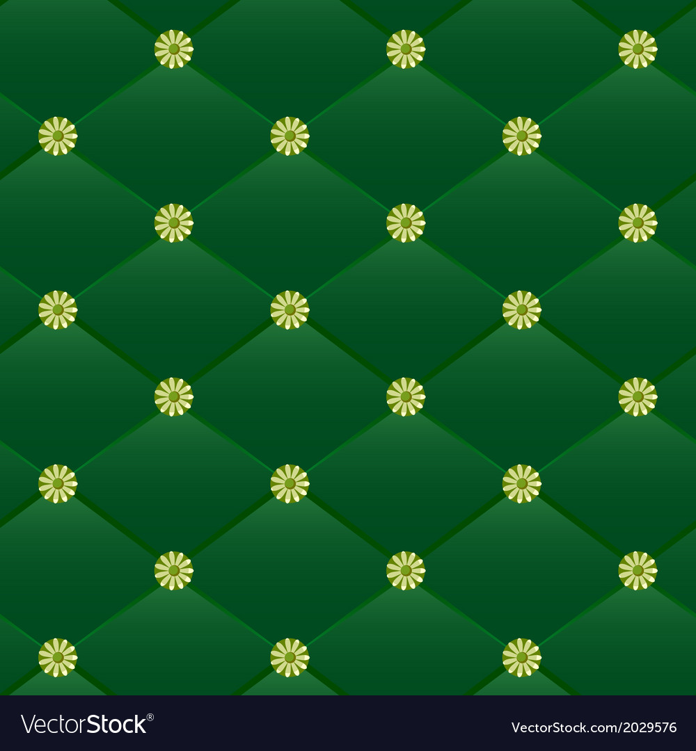 Vintage green leather pattern vector | Price: 1 Credit (USD $1)