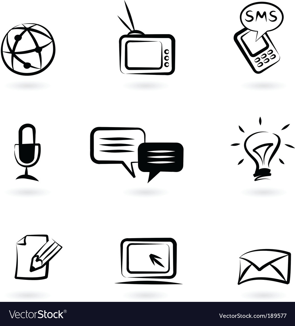 Communication technology icon vector   Price: 1 Credit (USD $1)