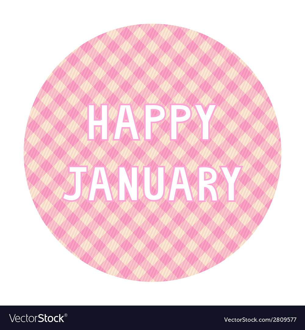 Happy january background4 vector | Price: 1 Credit (USD $1)
