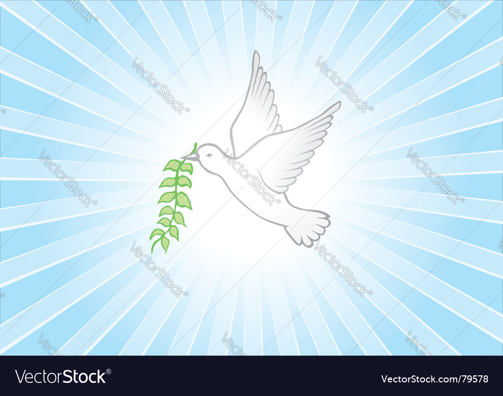 Peace background vector | Price: 1 Credit (USD $1)