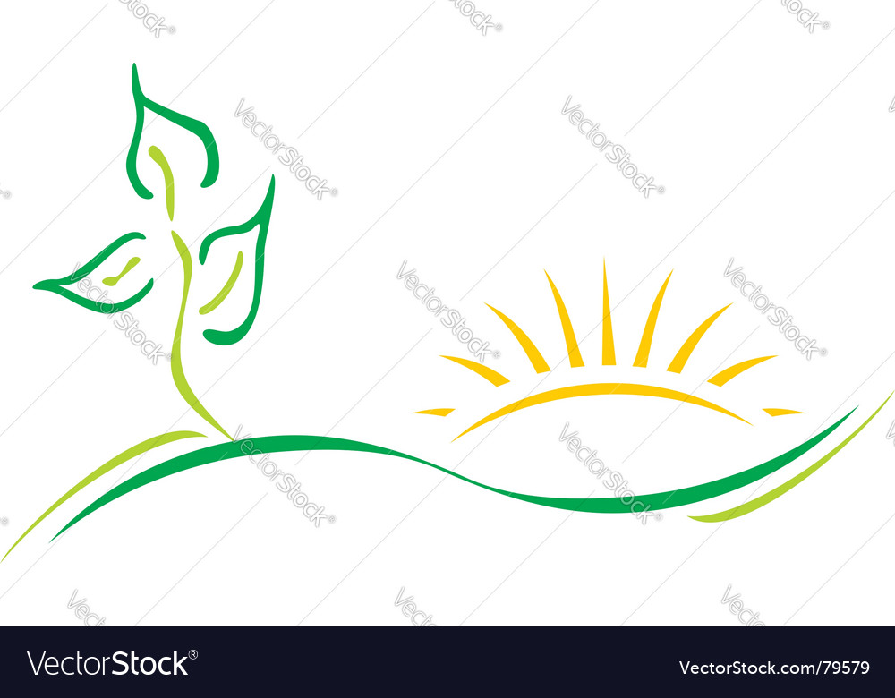Ecology logo vector | Price: 1 Credit (USD $1)