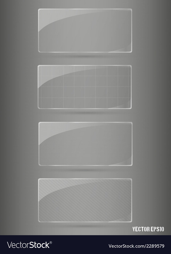 Glass framework set vector | Price: 1 Credit (USD $1)
