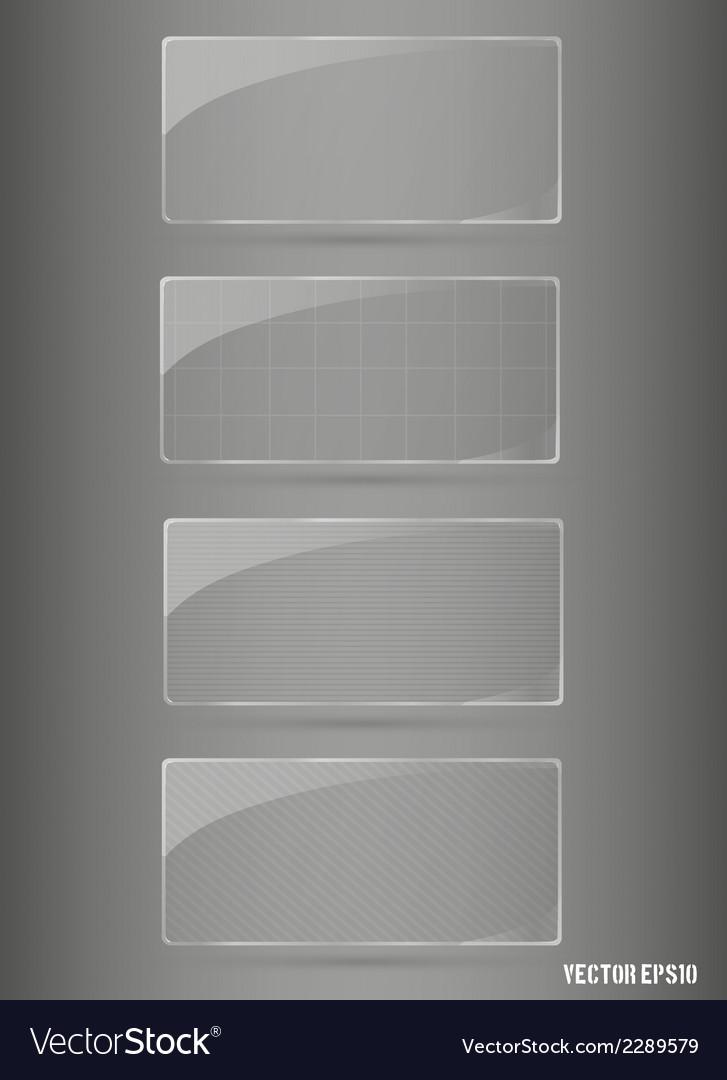 Glass framework set vector | Price: 1 Credit (USD $1)
