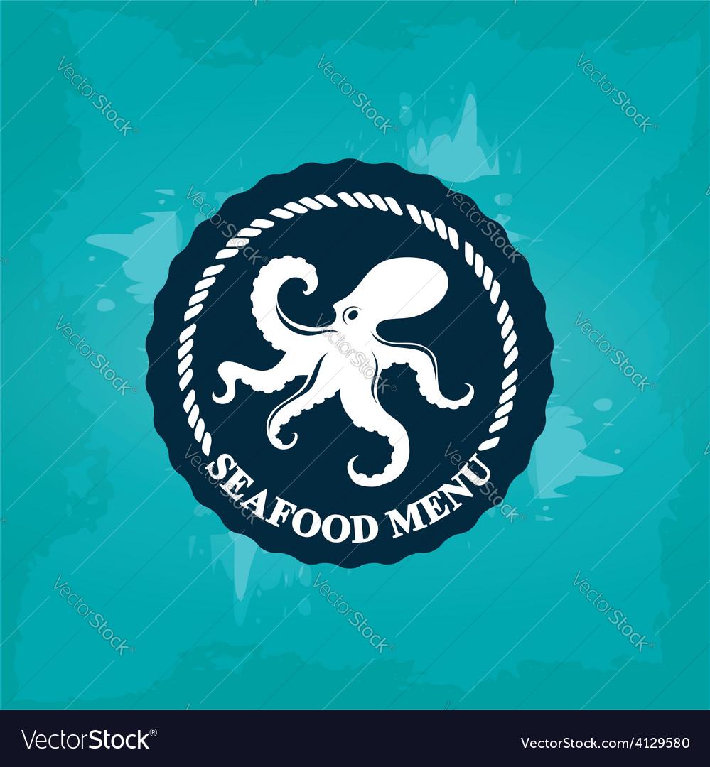 Seafood cafe menu template design vector   Price: 1 Credit (USD $1)