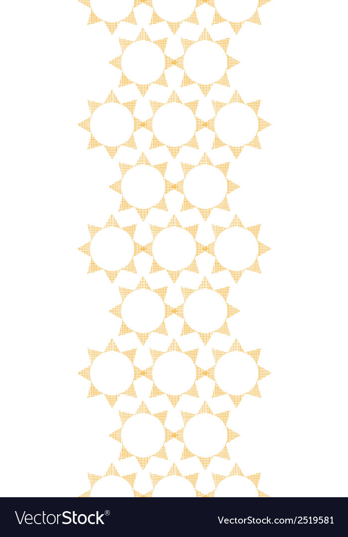 Abstract textile golden suns geometric vertical vector | Price: 1 Credit (USD $1)