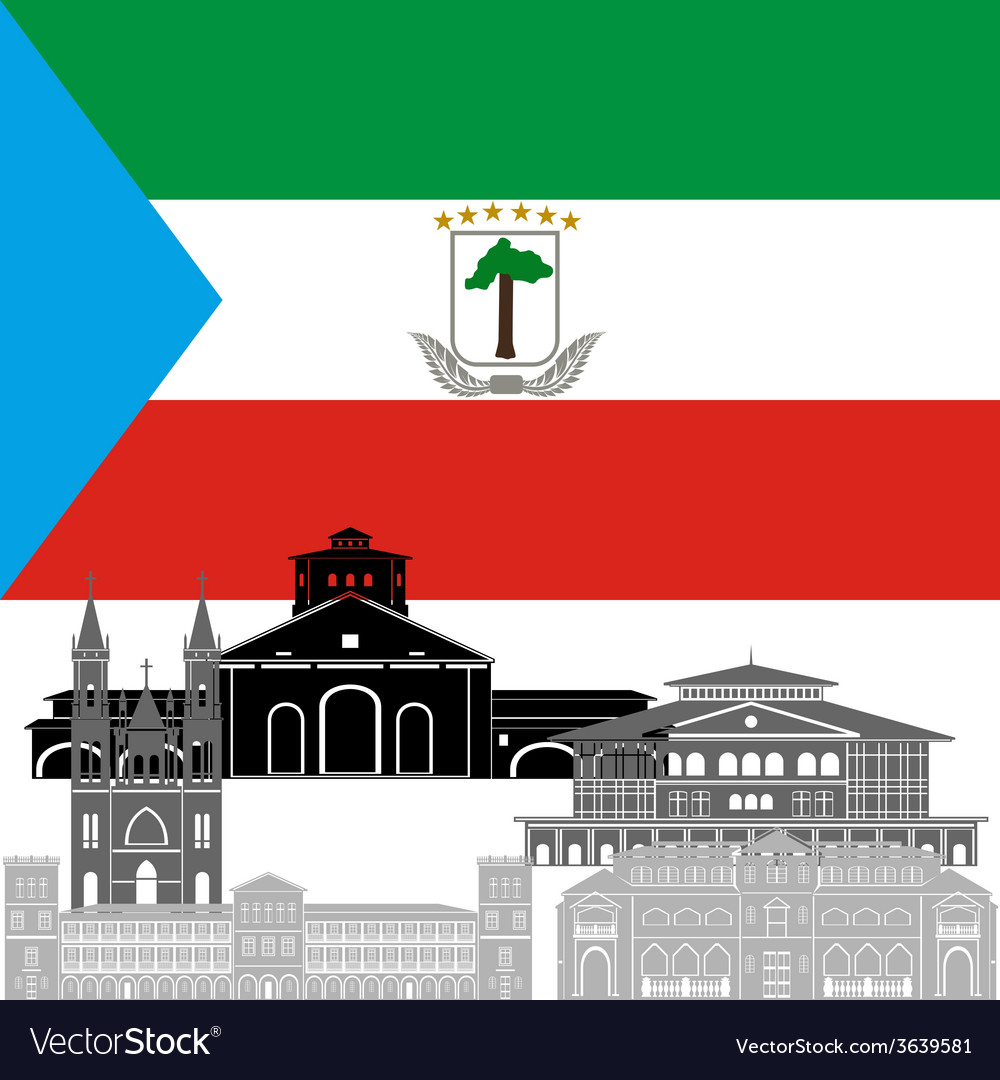 Equatorial guinea vector | Price: 1 Credit (USD $1)
