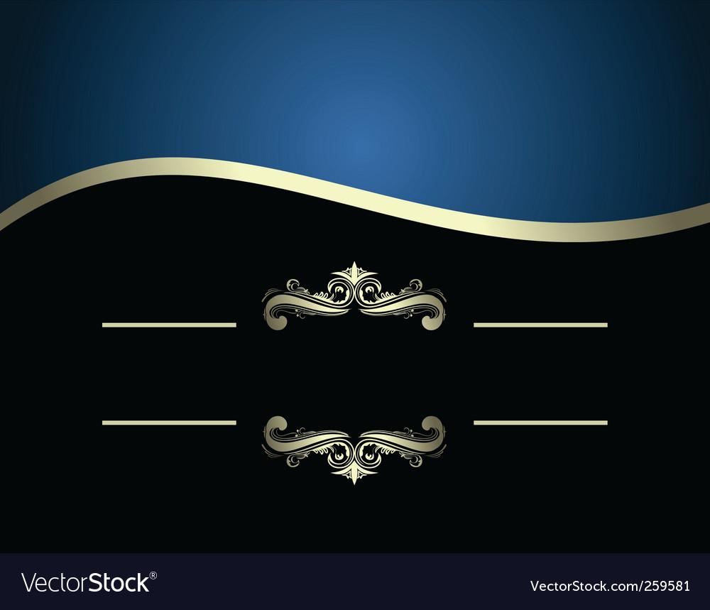 Illustration of luxurious invitation card vector   Price: 1 Credit (USD $1)