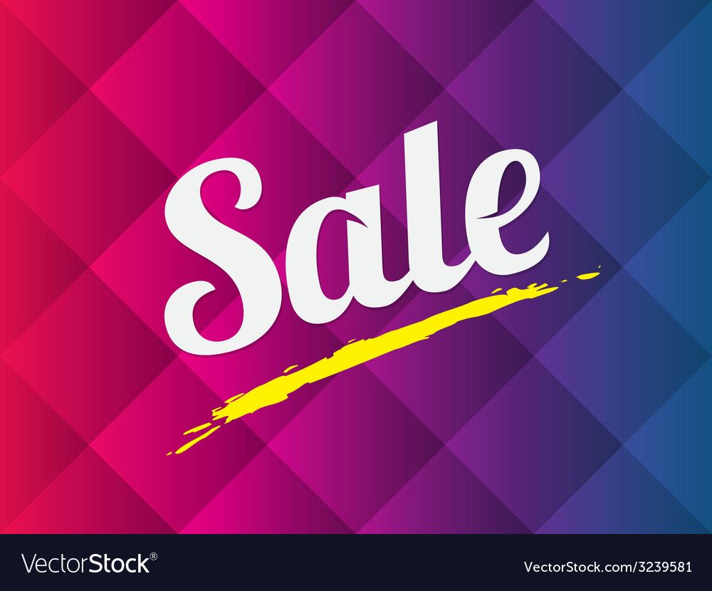 Sale text on abstract background vector | Price: 1 Credit (USD $1)