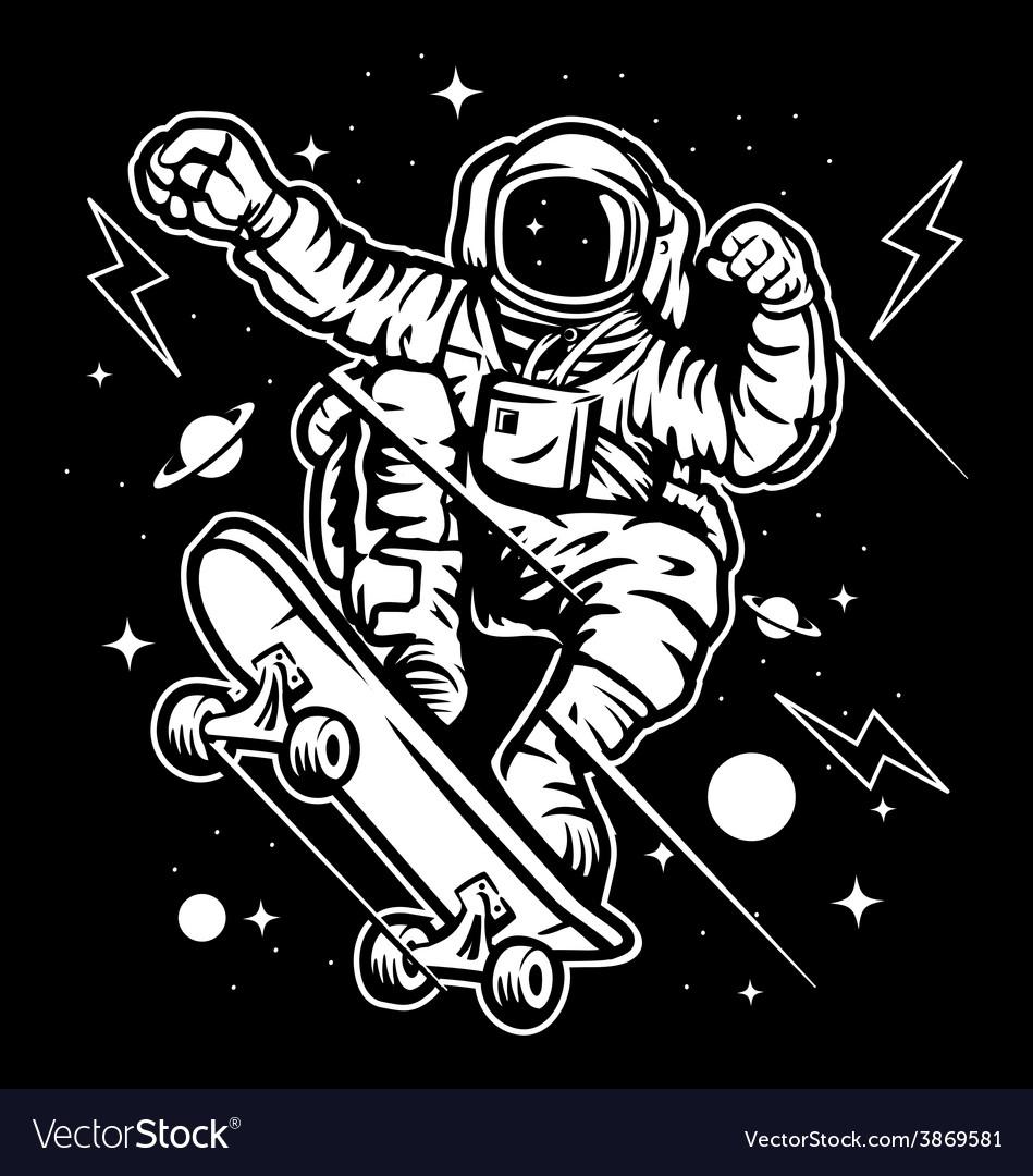 Skate space vector | Price: 3 Credit (USD $3)