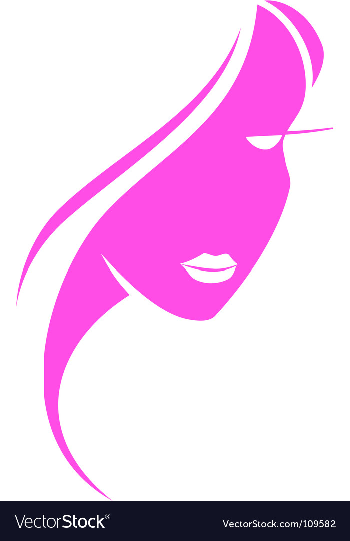 Beautiful girl vector | Price: 1 Credit (USD $1)