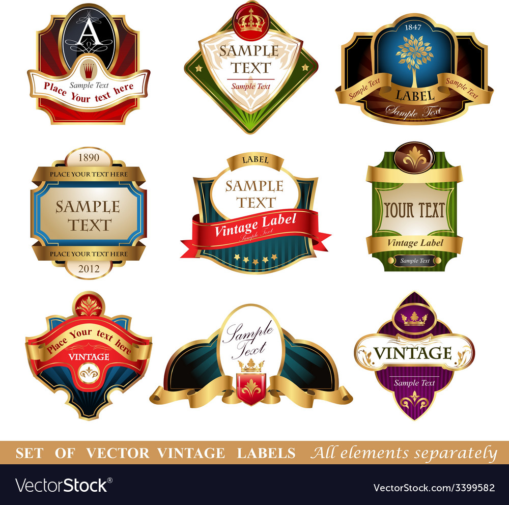Labels and frames vector   Price: 5 Credit (USD $5)