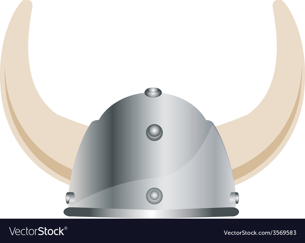 Viking hat vector | Price: 1 Credit (USD $1)
