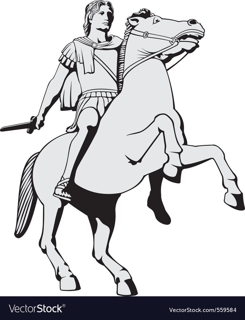 Alexander the great vector | Price: 1 Credit (USD $1)