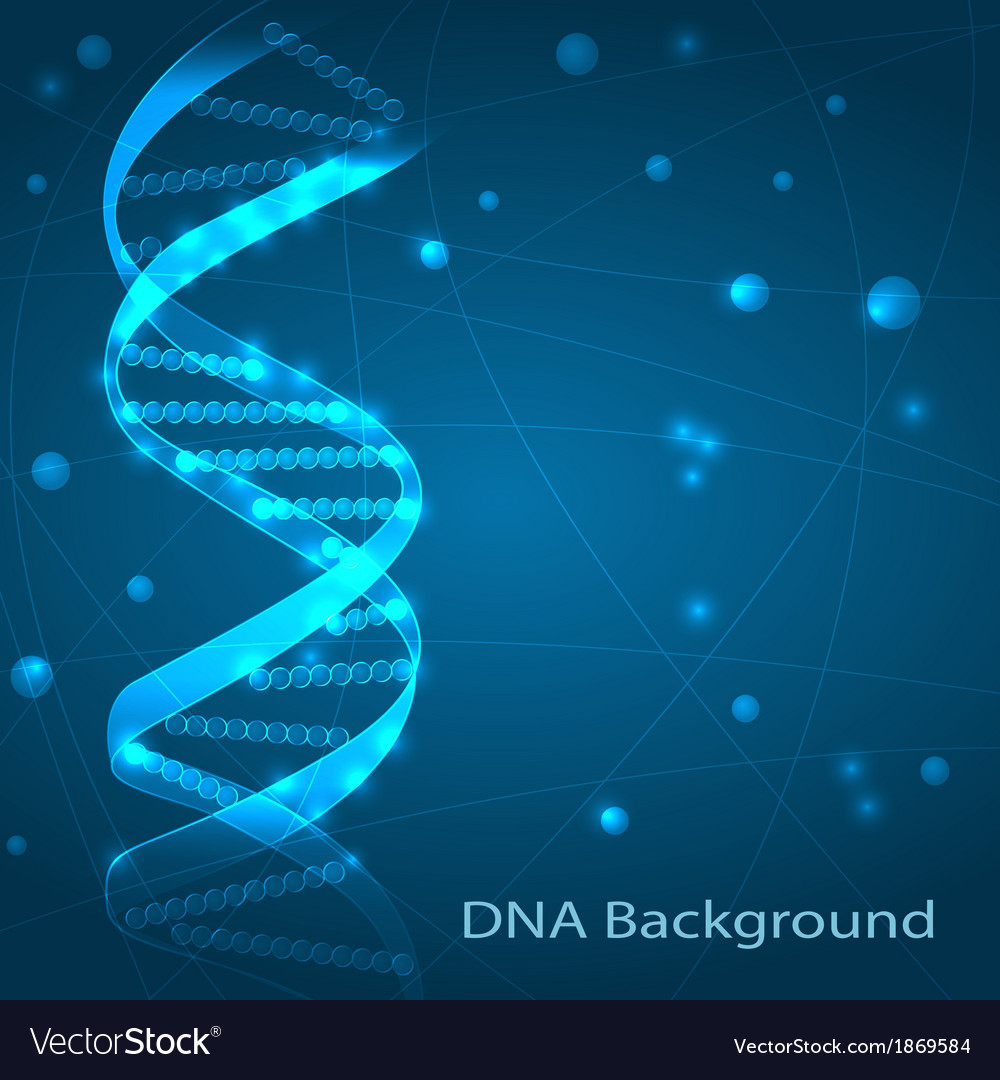 Dna background vector | Price: 1 Credit (USD $1)